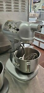 Hobart N50 60 5qt Mixer W Bowl Beater Whip And Hook