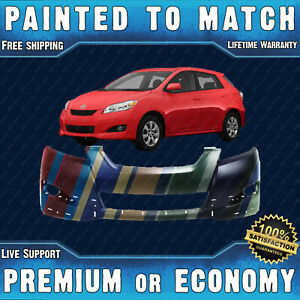 New Painted To Match Front Bumper Cover For 2009 2013 Toyota Matrix