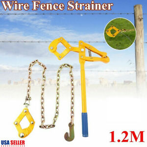 Wire Fence Strainer Plain Barbed Chain Fencing Repair Tool Gripple Heavy Duty
