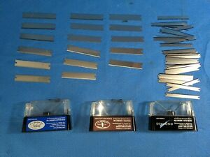 Lot Of Assorted C l Sturkey Disposable Microtome Blades