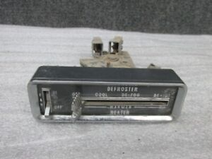 1959 Cadillac Heater Defroster Fan Control Dash Switch