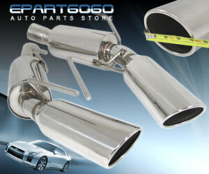 2005 2009 Ford Mustang Gt Shelby Exhaust Axleback Kit System Direct Bolt Slip On