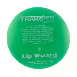 Transtec Lip Wizard Transmission Lip Seal Install Specialty Plastic Disc Tool