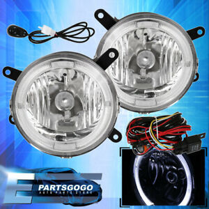 2005 2009 Ford Mustang Gt Halo Fog Lights Lamps Front Grille Replacement Pair