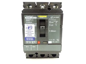 New Square D Hdl36050aasa Powerpact Shunt W Aux Circuit Breaker 50 Amp 600v