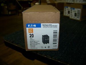 Eaton Cutler Hammer Classified Circuit Breaker Type Cl 20amp 5 Each