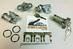 New 1974 1977 Chevrolet Camaro Z28 Complete Oe Style Lock Set With Gm Keys
