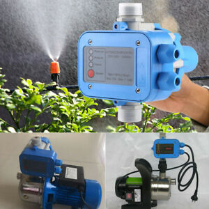Automatic Water Pump Controller Pressure Switch Electric Electronic Control New
