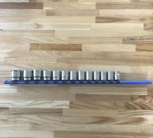 Matco Tools 13 Piece Metric 3 8 Drive 6 Pt Chrome Socket Set 10 22mm Made In Usa