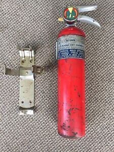 1967 67 Ford Rotunda Fire Extinguisher Oem Mustang Shelby Gt350 Gt500 Gt40