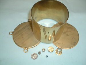 Model Hit And Miss Gas Engine Brass Fuel Tank Kit 3 1 2 Diameter