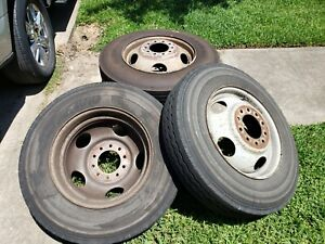 1993 Chevy Step Van Dually Back Wheels And Tires 10 Lug
