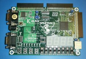 Digilent Xilinx Spartan 3 Starter Board With Power Supply And Jtag3 Cable