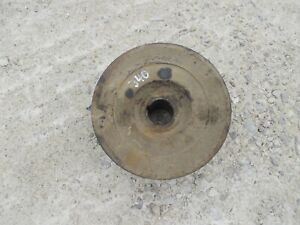Farmall 340 Tractor Ih Engine Motor Crankshaft Main Crank Front Belt Pulley
