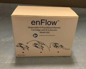 Carefusion 980202eu Enflow Iv Fluid blood Warmer Cartridge Model 202 Box 10