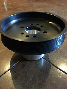 10 Rib 6 00 Supercharger Crank Pulley For Ford Sbf Mustang 5 0 F150 302 351