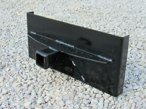 Trailer Receiver Hitch Attachment Plate Fits Toro Dingo Mini Skid Steer Loader