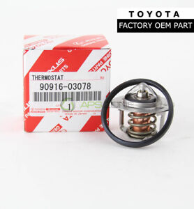 Genuine Toyota 4runner Pickup Thermostat With Gasket Oem 90916 03078 16341 35010