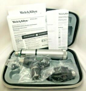 Welch Allyn 3 5v Macroview Otoscope Diagnostic Set W Plug in Handle New