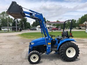 New Holland Tc33d Super Steer Only 322 Hours Nationwide Shipping Available