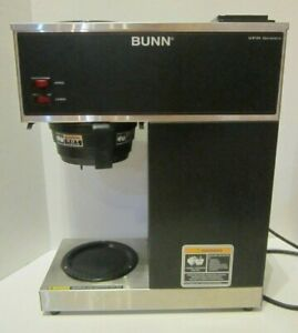 Bunn 33200 0000 Vpr 12 Cup Commercial Pourover Coffee Brewer Maker Black