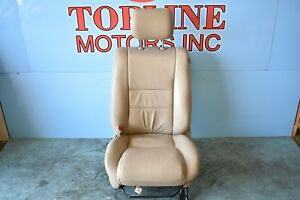 2007 07 2008 08 2009 09 Toyota Tundra Driver Left Front Tan Leather Seat Oem