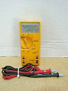 Fluke 23 Series Ii Handheld Digital Multimeter W Leads Tested Working