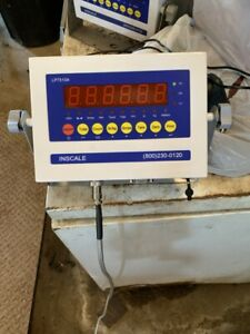 5000 Lb Floor Scale With New Digital Indicator