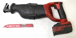 Snap On 18 V Cordless Reciprocating Saw Ctrs8850 W Extra