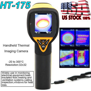 Handheld Thermal Imaging Camera Ir Infrared Thermometer Imager 20 To 300