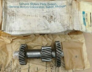 Nos 1940 1963 Chevy 3 Speed Transmission Countershaft Cluster Gear Original Gm