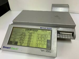 Mettler Toledo Smart Touch Digital Produce Meat Deli Counter Scale Uc cwq Evo Ct