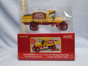 Coca-Cola Ertl with Case xx Bone Handle Pocket Knife