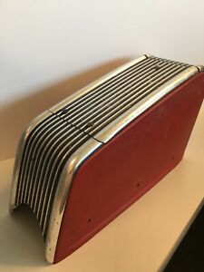 Vintage 1960s Ford Center Console Fomoco Maroon Old Car Parts Street Rod