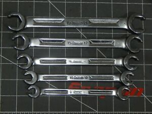 Snap On Metric Flare Nut Line Wrench 5 Of 6pc Set 9mm 21mm Rxm Rxm911s Rxm1921s