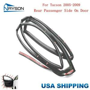 Door Rubber Seal Weatherstrip Rear Right For Hyundai Tucson 2005 2009
