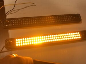Whelen Amber Strip lite Series Smart Led 2 Lights 7 Lenses