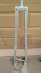 Rare Vintage Hand Truck Dolly Folding Cart 2 Wheel Portable Collapsible
