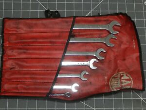 Mac 7pc Sae Xl Extra Long Combination Wrench Set 3 8 3 4 12pt Scl7lk Cll Pouch