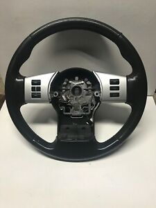 2008 2012 Nissan Pathfinder Leather Steering Wheel With Buttons 48430 zs20b
