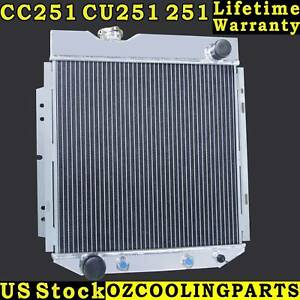 3 Row Aluminum Radiator For 1960 1966 Ford Mustang comet falcon 1964 1965 1962