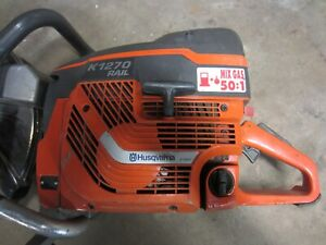 Husqvarna K1270 Hand Held Gas Cut Off Saw