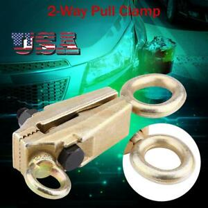 5 Ton Top Straight 2 Way Self Tightening Frame Grips Auto Body Repair Pull Clamp