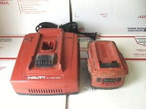 Hilti C4 36 acs Charger With B18 5 2 Battery