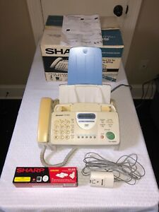 Sharp Ux 300 Plain Paper Facsimile Fax Machine 3 In 1 Fax Copy And Telephone