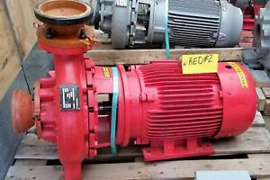 Armstrong 4x3x13 4280 520gpm 138ft Head 30hp 175psi 1800rpm New red 2