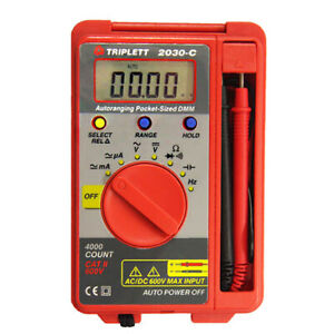 Triplett 2030 c 2030 Pocket sized Autoranging Digital Multimeter