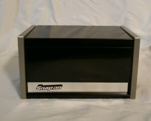 Snap On Mini Micro Top Chest Tool Box Black