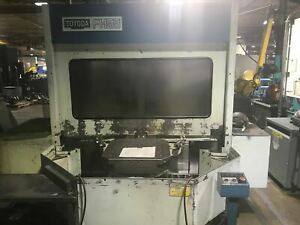1986 Toyoda Fh55 Under Power Available For Inspection Fanuc