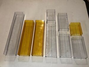 Lot Of Whelen Edge 9000 9m Lightbar Vintage Amber Clear Lenses Lot 7